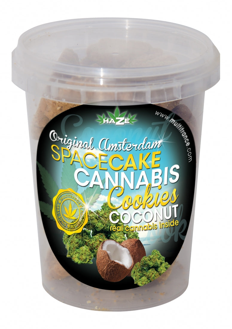 Spacecake Cannabis Cookies - Coconut - 135 g
