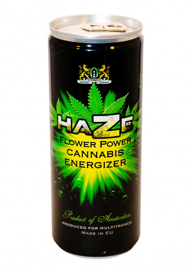 HaZe - Flower Power Cannabis Energizer drink - 250ml