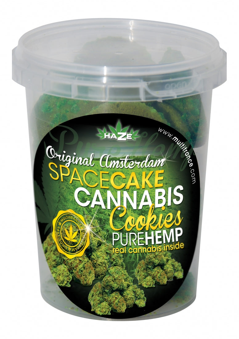 Spacecake Cannabis Koekjes - Pure Hemp - 140 g