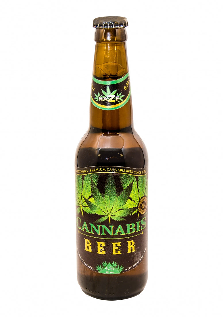 Cabbabis Beer Green Leaf - 330ml
