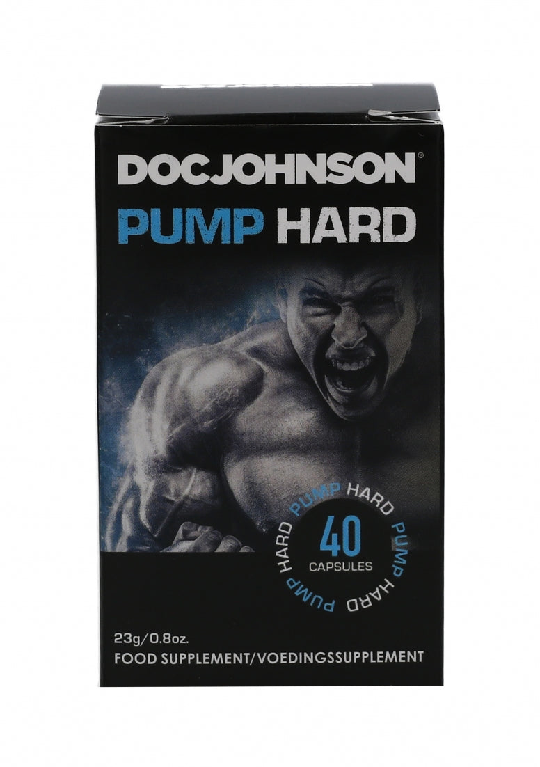 Doc Johnson - Pump Hard - 40 capsules