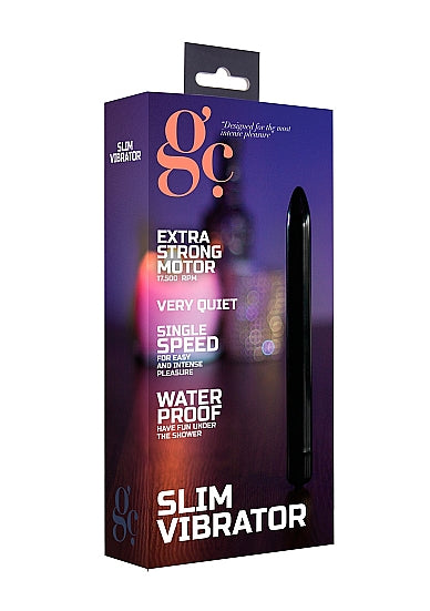 Bullets & Mini Vibrators - G.C. Slim Vibrator - Zwart - GC