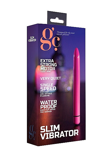 Bullets & Mini Vibrators - G.C. Slim Vibrator - Paars - GC