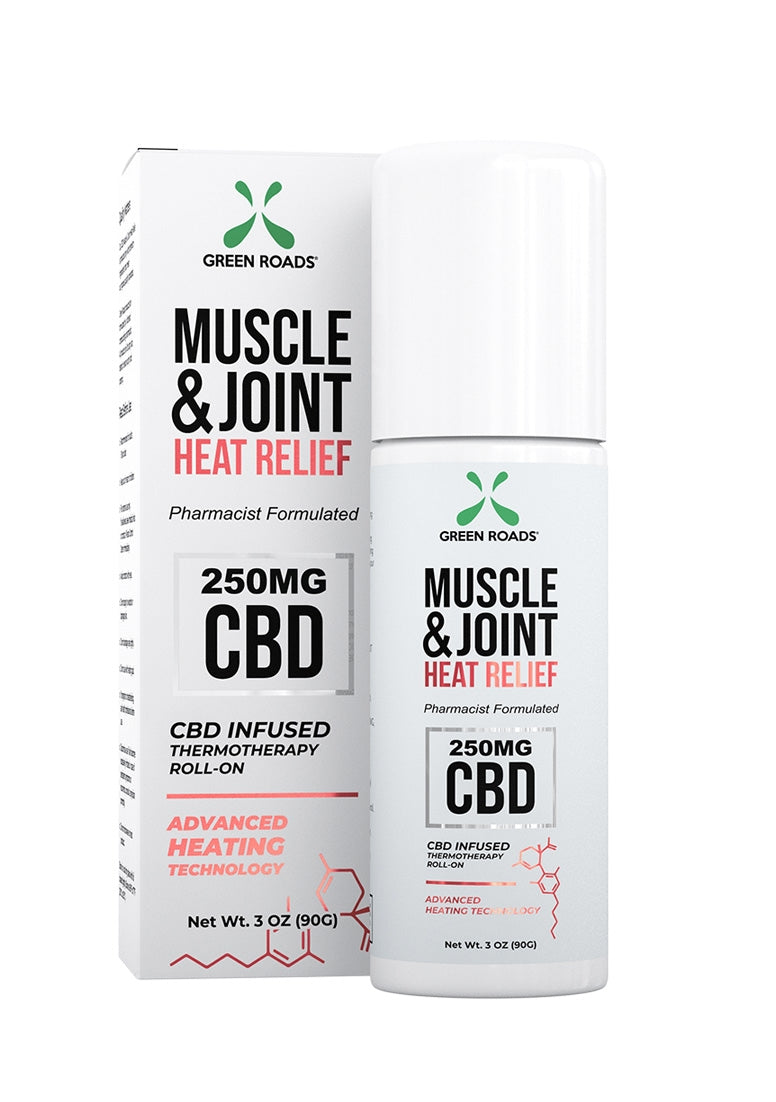 Muscle and Joint Heat Relief Roll On - 250 MG