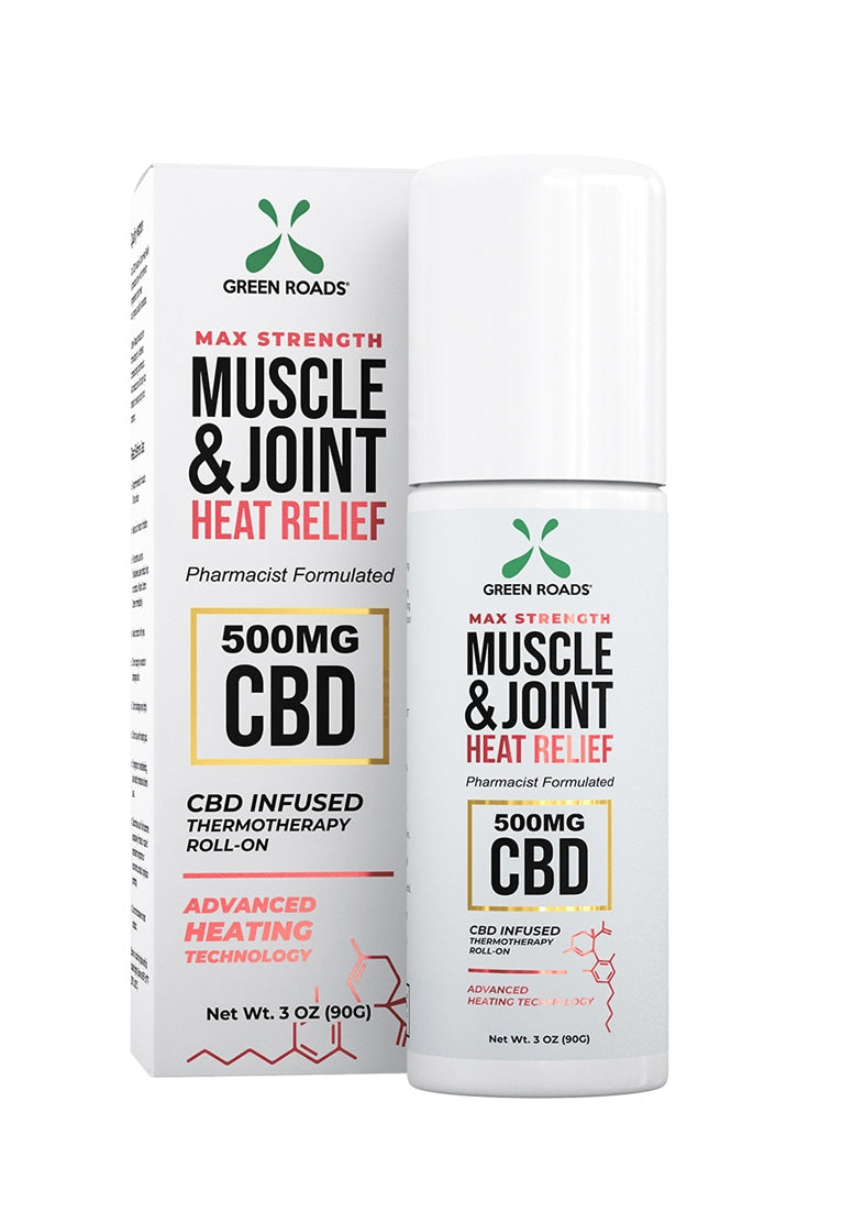 Muscle and Joint Heat Relief Roll On - 500 MG