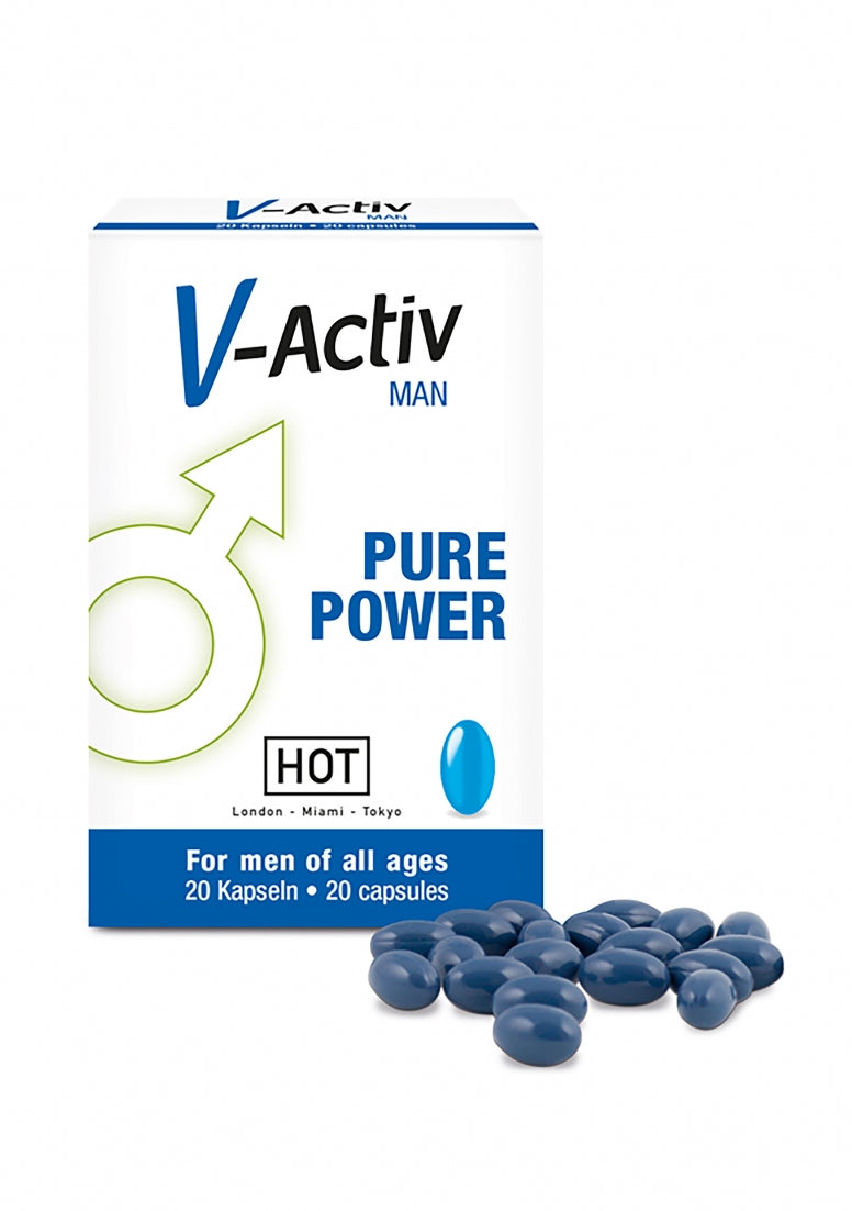 HOT V-Activ caps for men - 20 pcs