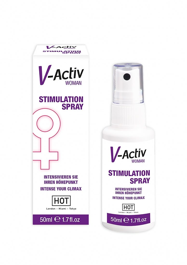 HOT V-Activ stimulation spray for woman - 50 ml
