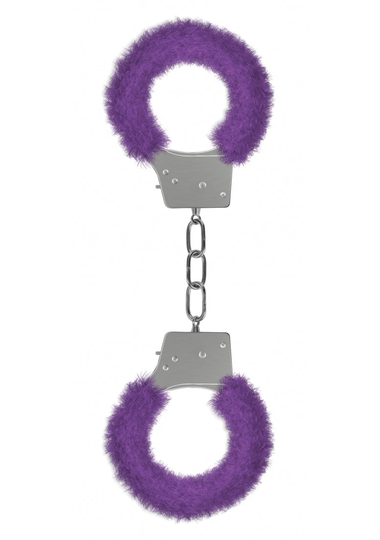 Beginner's Handcuffs Furry - Purple