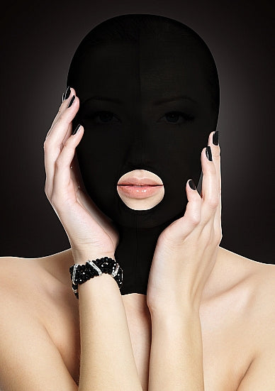 Maskers - Ouch! Submission Masker - Zwart - Ouch!