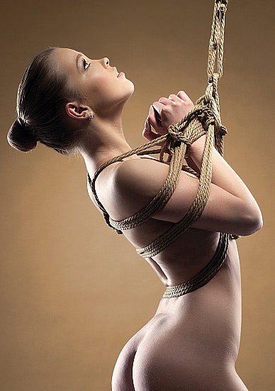 BDSM Touw - Ouch! Brown Shibari Touw - 10m - Bruin - Ouch!