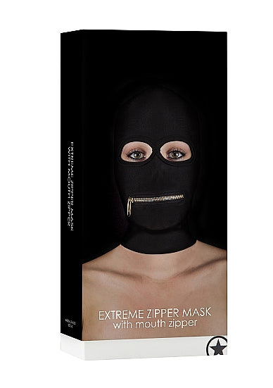 Bondage Toys,Masks - Extreme Zipper Mask with Mouth Zipper - Ouch!