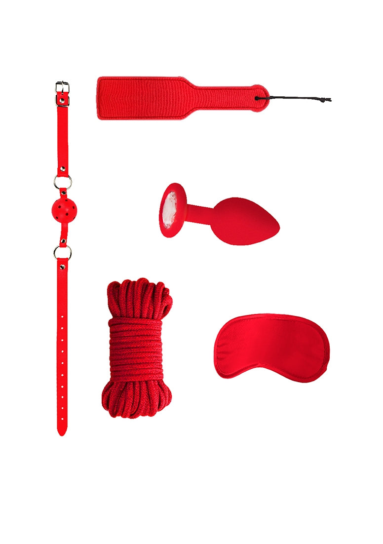 Introductory Bondage Kit #5 - Red