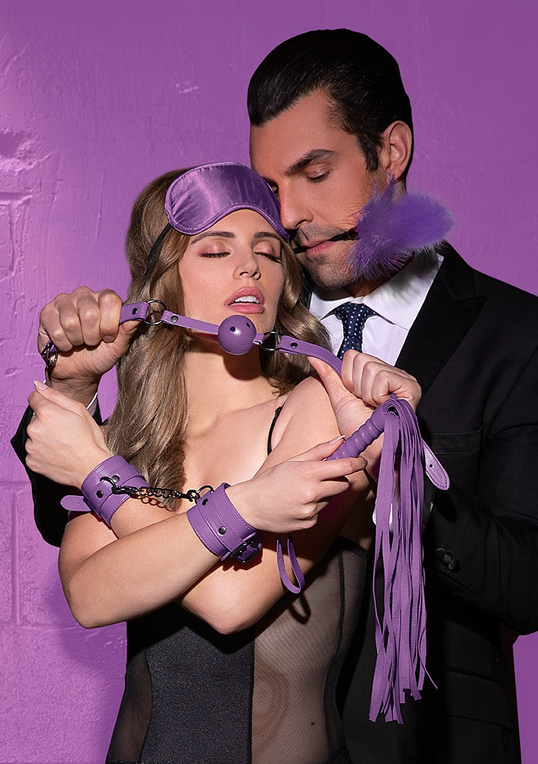 Beginners Bondage Kit - Purple
