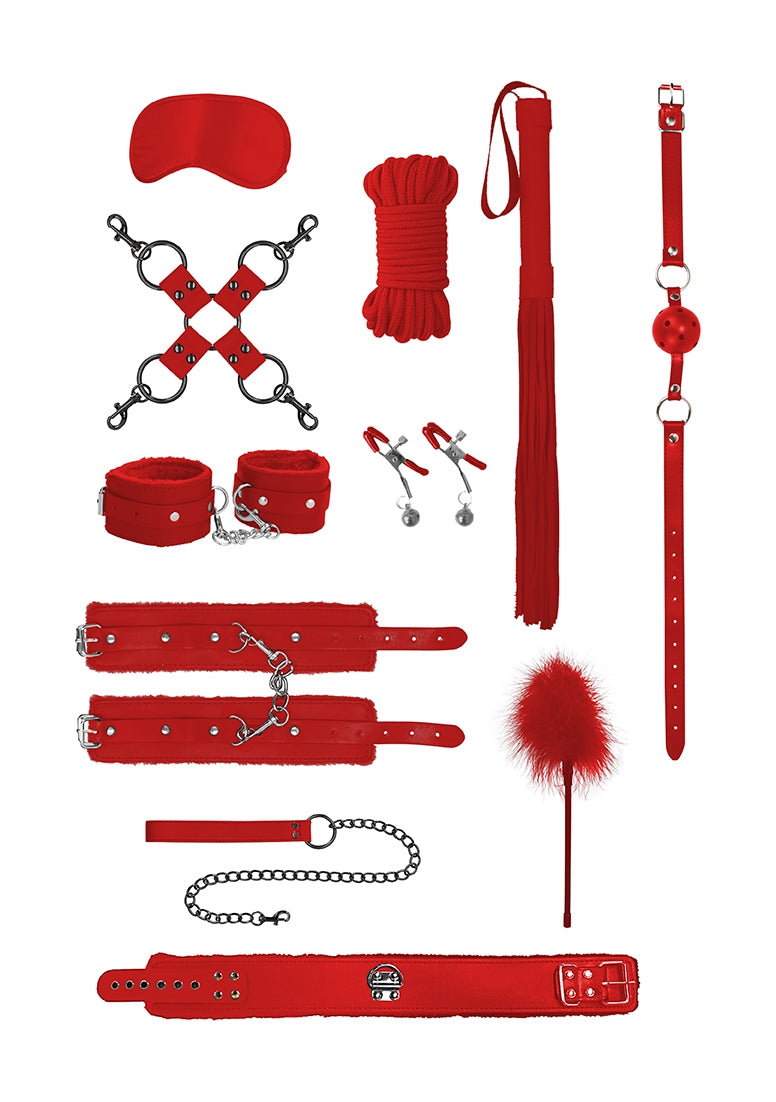 Intermediate Bondage Kit - Red