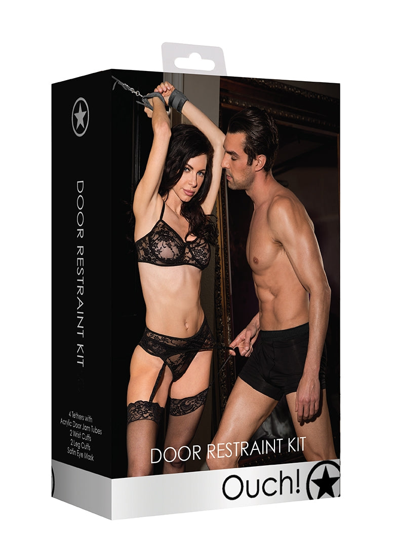 Door Restraint Set - Black