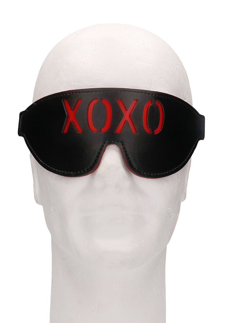 Ouch! Blindfold - XOXO - Black