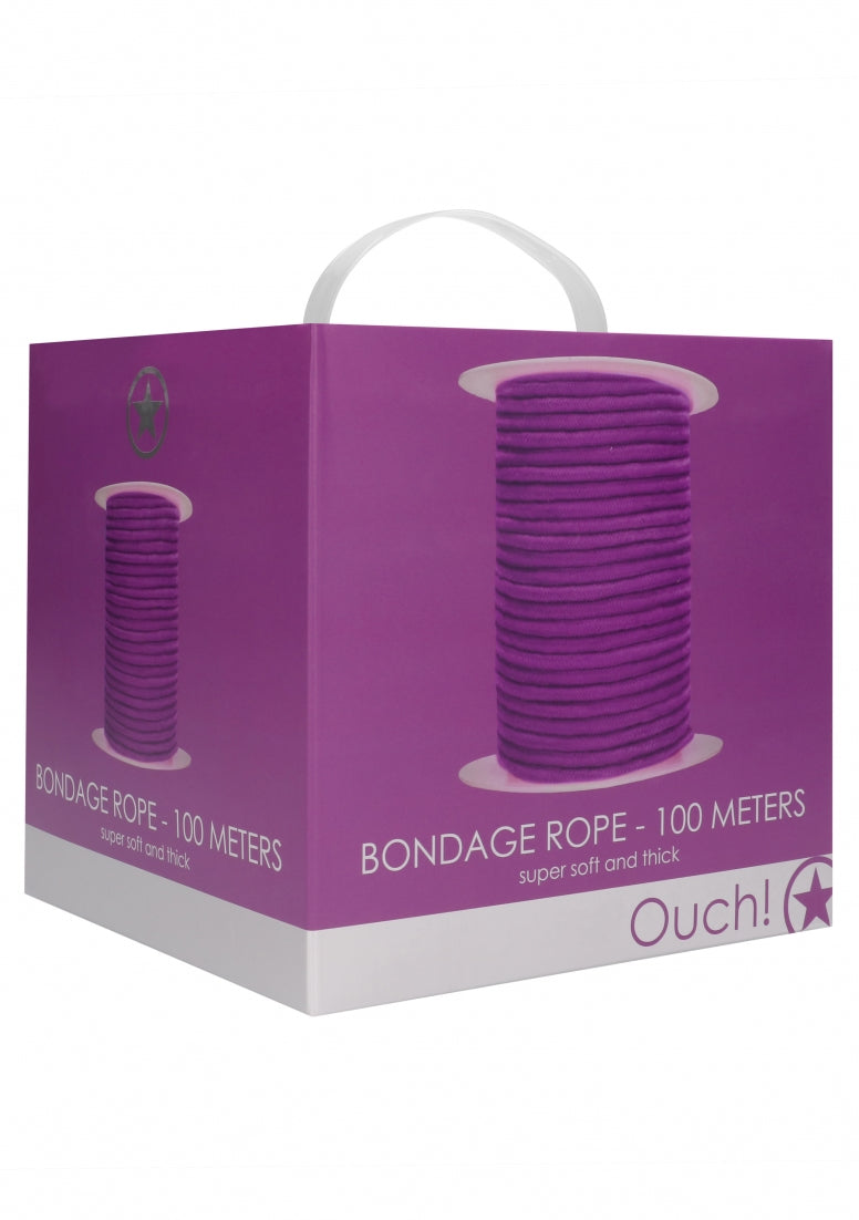 Bondage Rope - 100 Meters - Purple