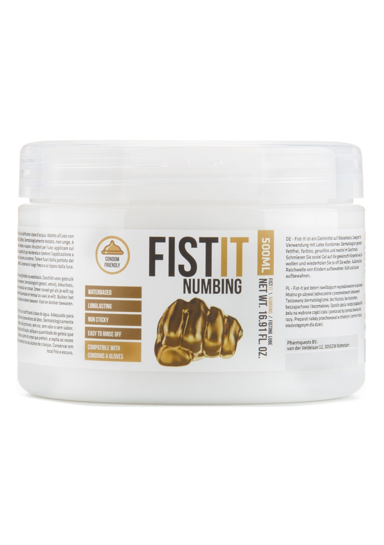 Fist It - Numbing Verdovende Anaal Creme - 500 ml