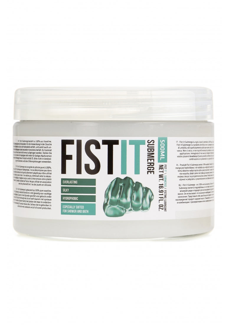 Glijmiddel - Fist It - Submerge Waterafstotend Glijmiddel - 500ML - Fist It