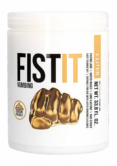 Verdovend Glijmiddel - Fist It - Numbing  Verdovende Anaal Creme - 1000 ml - Pharmquests
