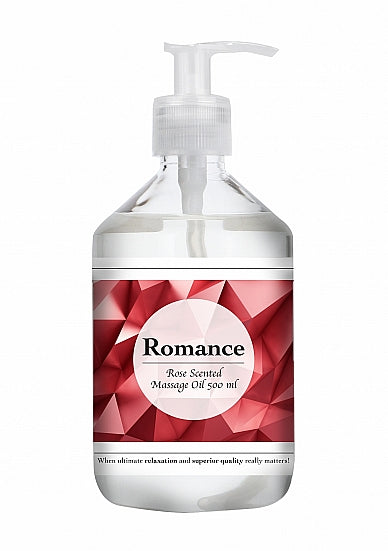 Massage Olie - Romance - Rose Scented Massage Oil - 500 ml - Pharmquests