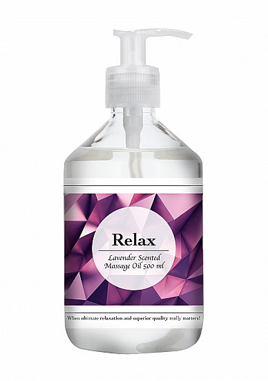 Relax - Lavender Scented Massage Oil - 500 ml