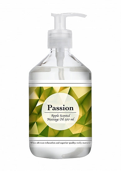Passion - Apple Scented Massage Oil - 500 ml