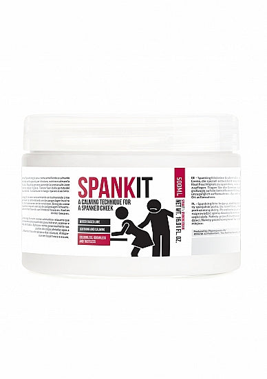 Verzachtende creme - Spank It - 500 ml