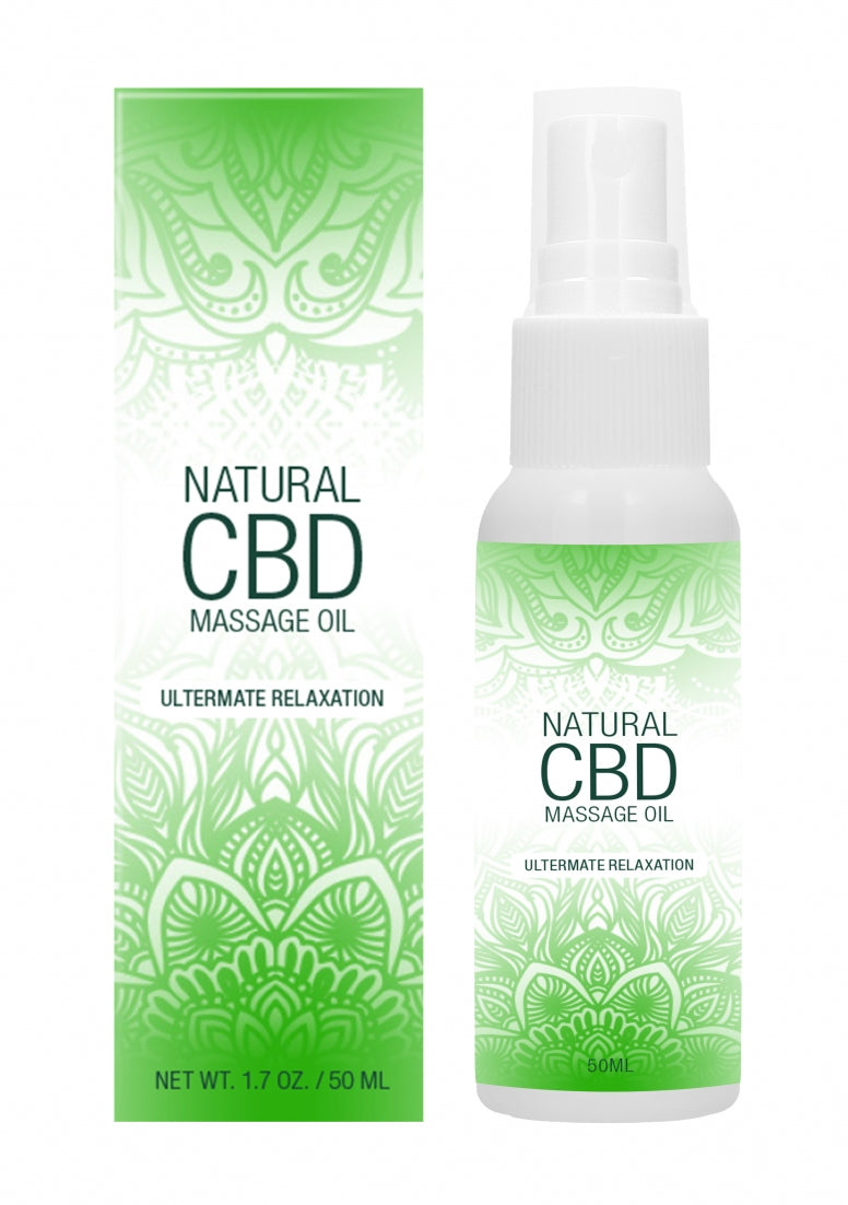 Natural CBD -  Massage Oil - 50 ml