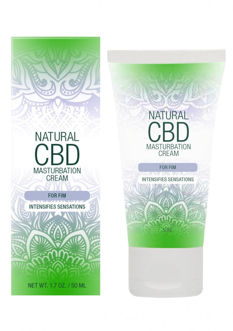 Natural CBD -  Masturbation Cream For Him - 50 ml