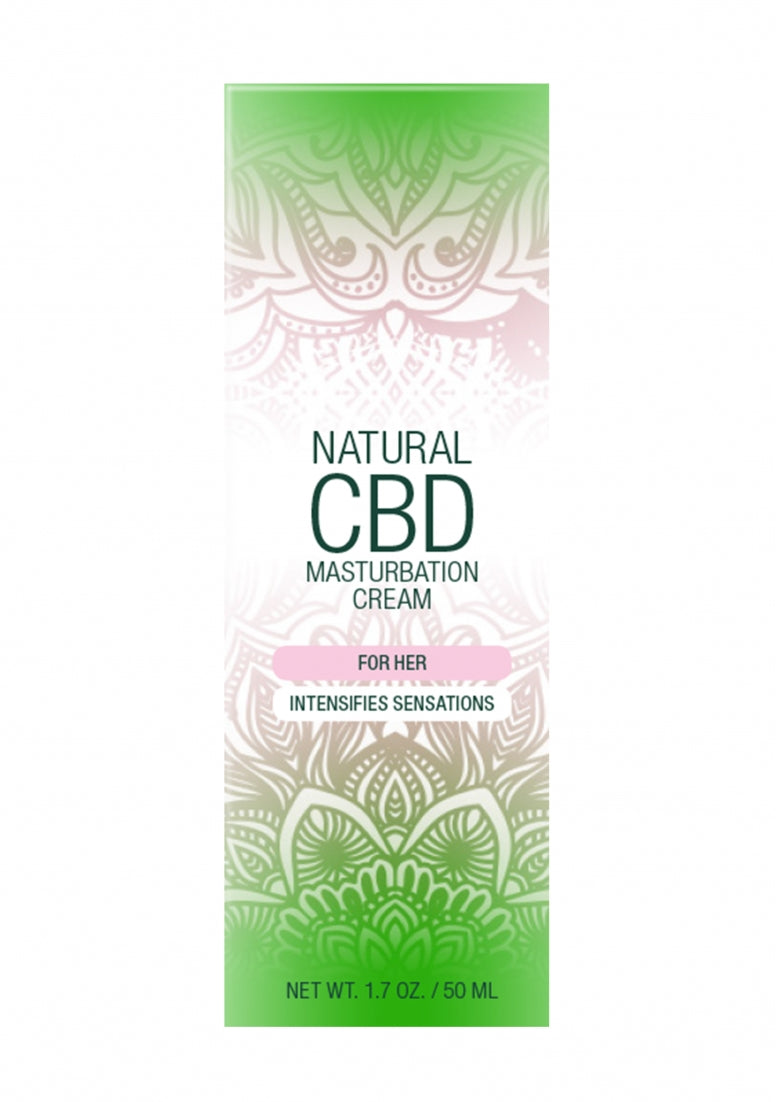 Natural CBD -  Masturbation Cream For Her - 50 ml