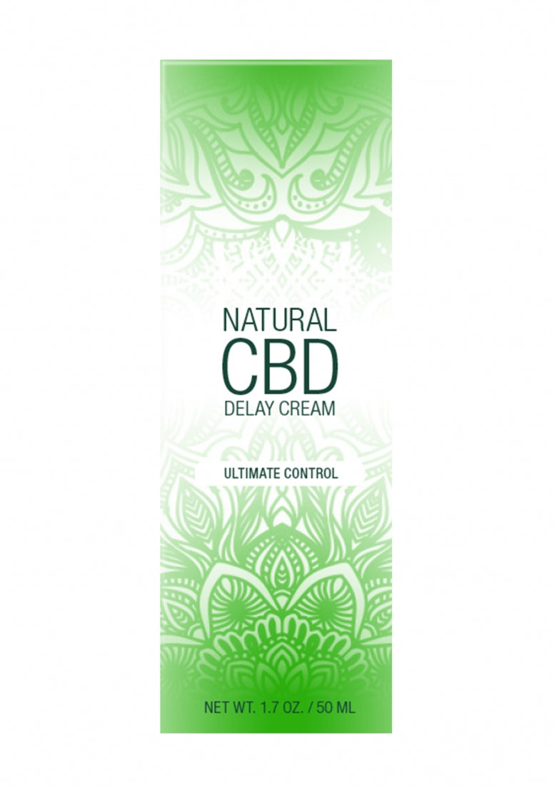 Natural CBD -  Delay Cream - 50 ml