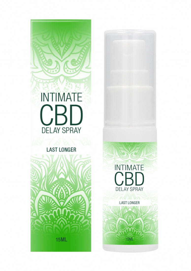 Natural CBD -  Delay Spray - 15 ml