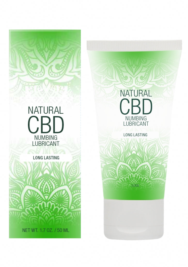 Natural CBD -  Numbing Lubricantl - 50 ml