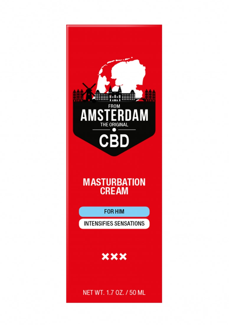 Original CBD from Amsterdam -  Masturbation Cream For Him - 50 m
