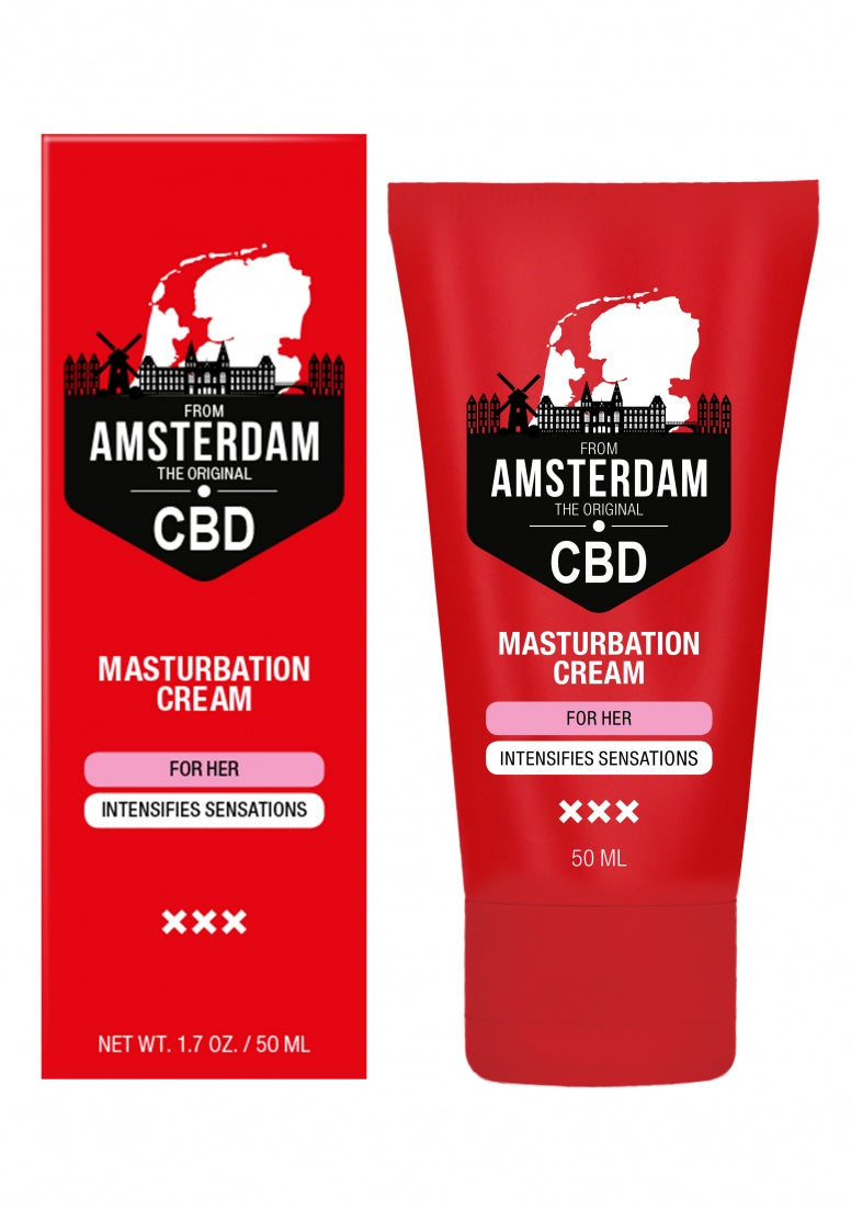 Original CBD from Amsterdam -  Masturbation Cream For Her - 50 m