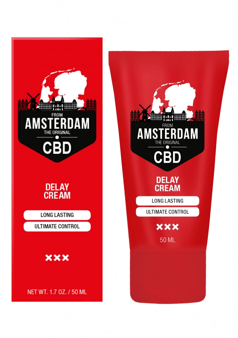 Original CBD from Amsterdam -  Delay Cream - 50 ml