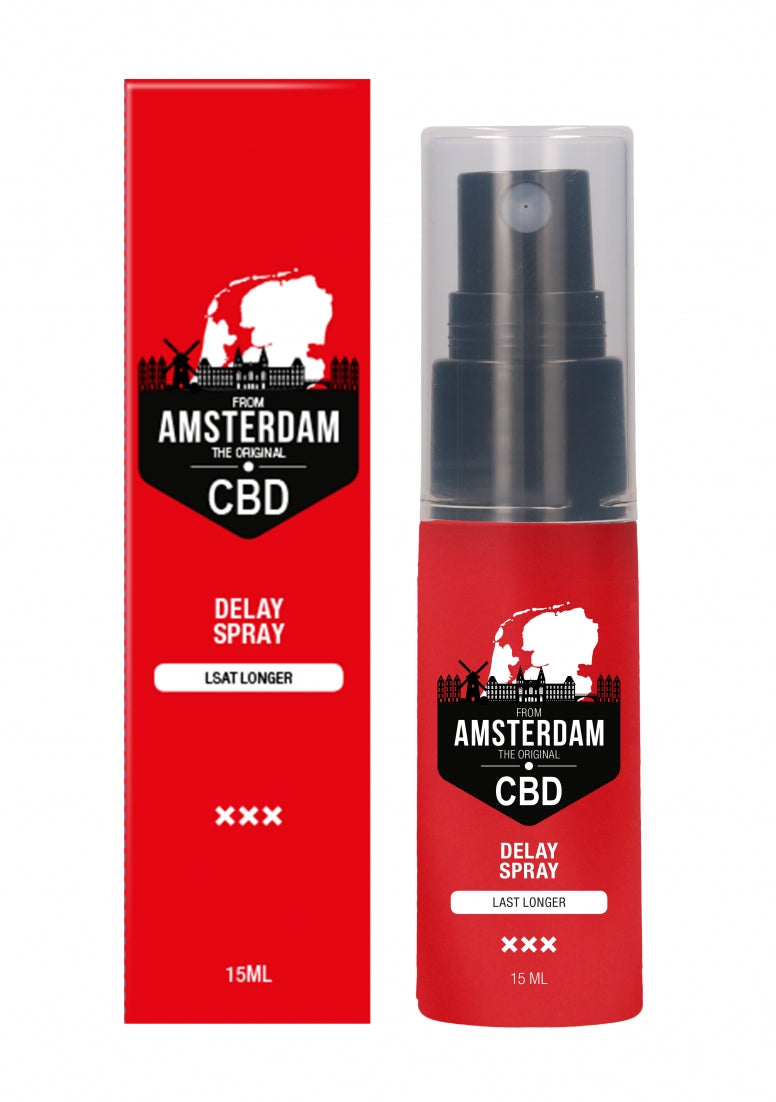 Original CBD from Amsterdam -  Delay Spray - 15 ml