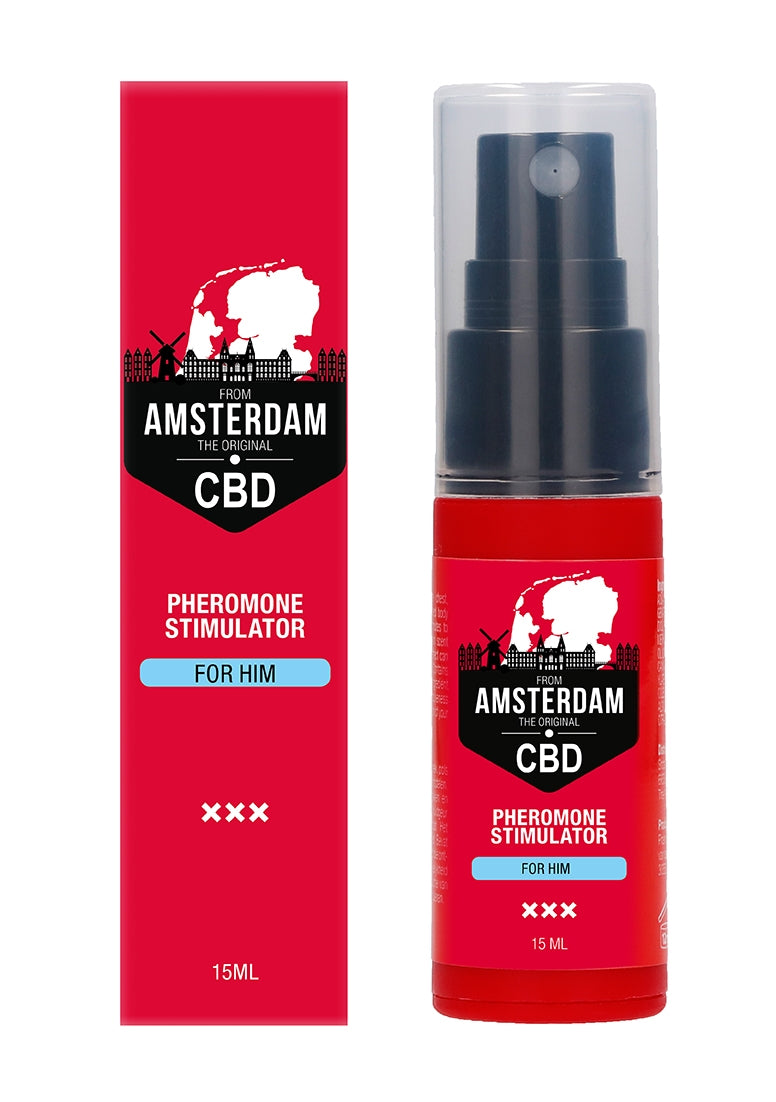 Original CBD Amsterdam -  Pheromone Stimulator For Him - 15ml