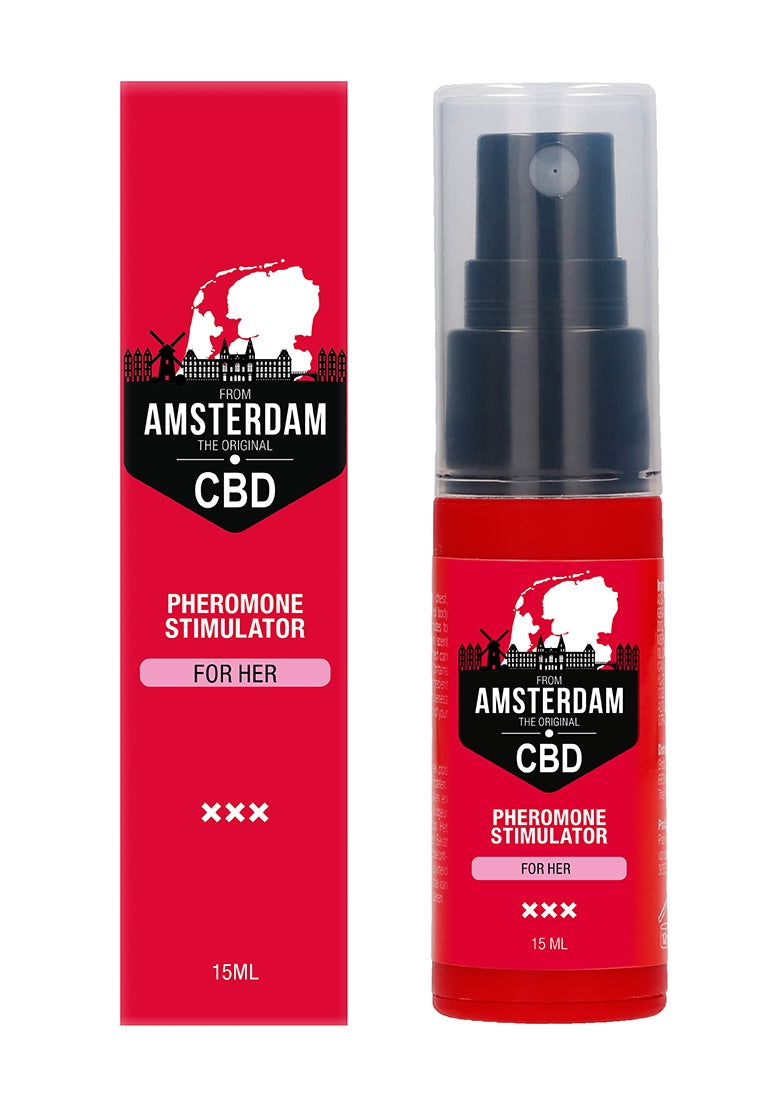 Original CBD Amsterdam -  Pheromone Stimulator For Her - 15ml