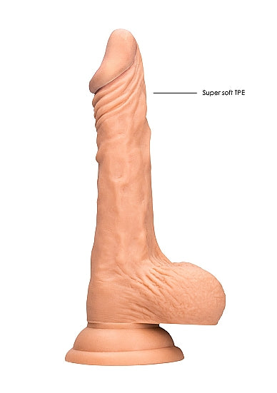 Realistic Dildo With Balls - 23 cm - Flesh