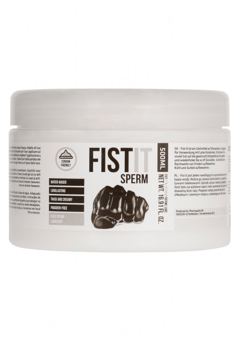 Fist It Sperm - Sperma lijkend Glijmiddel - 500ml