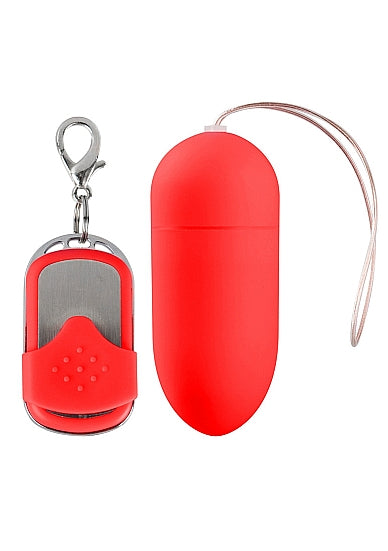 10 Speed Remote Vibrating Egg - Big - Red