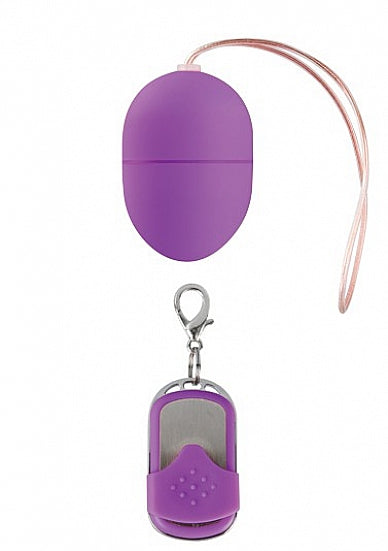 10 Speed Remote Vibrating Egg - Small - Purple