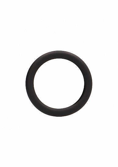 Round Cock Ring - Zwart - Large