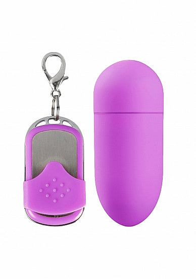 Eitjes - MACEY remote control vibrating egg - Roze - Simplicity