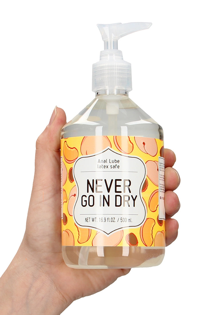 Anal Lube - NEVER GO IN DRY - 500 ml