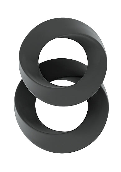 Cock Ring - Sono No.24 - Cockring Set - Grijs - Sono