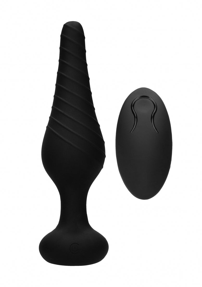 No. 77 - Remote Controlled Vibrating Anal Plug - Back