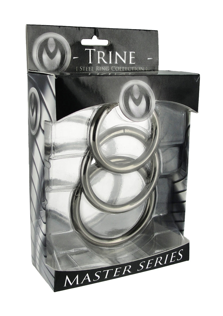 Trine - Steel Cockring Collection